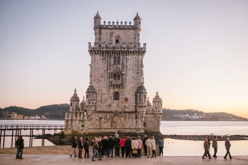 Belém Drone  Torre De Belém Travel Adult Adults Only Architecture Belem Tower Building Exterior Built Structure Clear Sky Day Drohne Dronephotography Droneshot History Large Group Of People Leisure Activity Lifestyles Lisboa Lisbon Lissabon Luftaufnahme Men Nature Outdoors People Real People Sea Sky Standing Tourism Travel Travel Destinations Vacations Water Women
