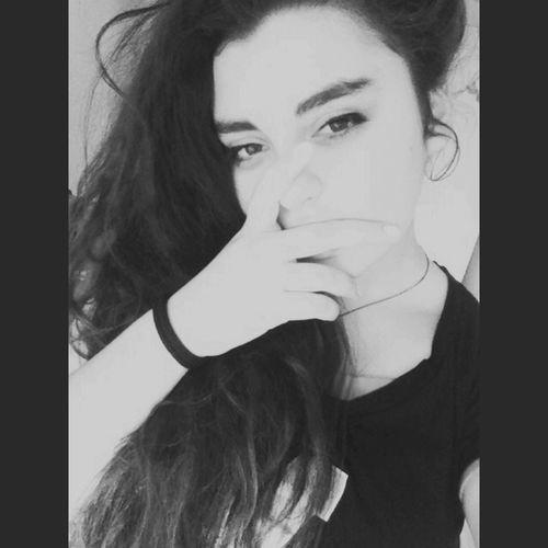 Blackandwhite Eyes Girl