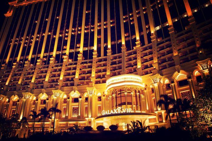 Galaxy Macau Hello Macau Holidays Nightphotography