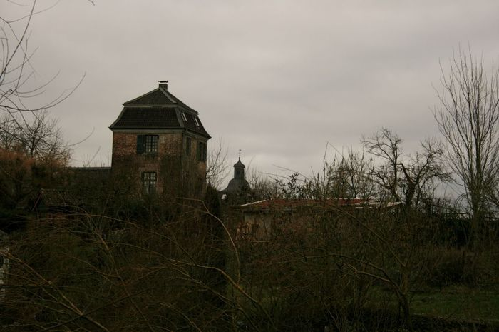 Linn Mittelalter Building Exterior Built Structure Landscape Medieval Architecture Niederrhein Tower Tranquility