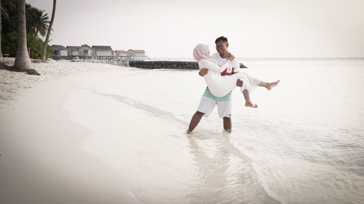 Just like my responsibilities, I will carry all your burden and problems together with you. We are in this together. Togetherness Vacations Beach Love Bonding Carefree Wedding Husband And Wife Eternity Couple Newlyweds Sea Vacations Eye4photography  The Week On EyeEem Maldives Honeymoon Sunset Love Outdoors EyeEm Best Shots EyeEm Gallery