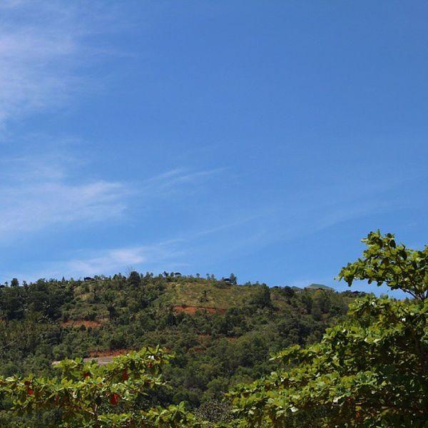 Pasirpanjangbeach Westborneo INDONESIA Bluesky Mountain Landscape