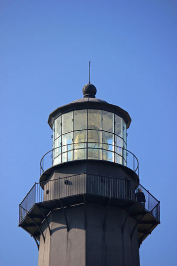 Tybee Island Lighthouse Oceans Architecture Beach Structure Clear Sky History Island Structures Lighthouse Sea