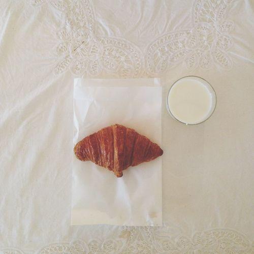 朝ごはん Breakfast Croissant Maison Kayser