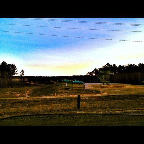 Sniper range, Fort Pickett, Virginia USA Army Military Sniper Range Fortpickett Usarmy Nationalguard Base Blackstone Virginia