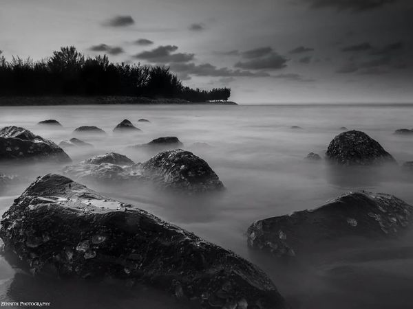 EyeEm Best Shots Black & White Long Exposure Landscape_Collection