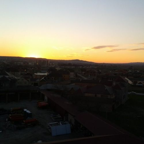 безфильтров Закат солнце вечер прекрасное настроение люблю закаты Ну наконецта красивый закат получилось сфотогрофировать : )