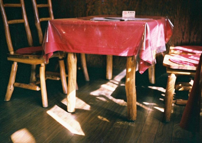 Chair Day Film Fujifilm Indoors  Konicac35 No People Red Table