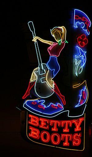 Girls just wanna have fun! Neon Lights Neon Betty Nashville