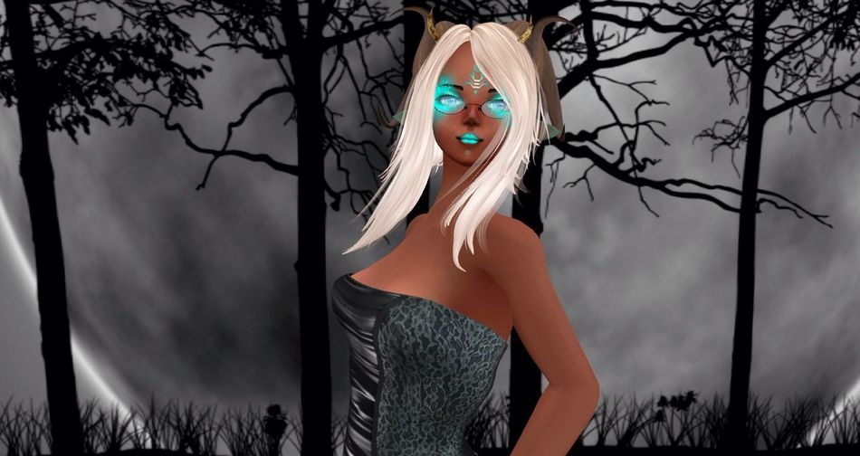 One Person Young Women Beauty Secondlife Avatar Standing Young Adult Fantasy World Beautiful Woman Close-up