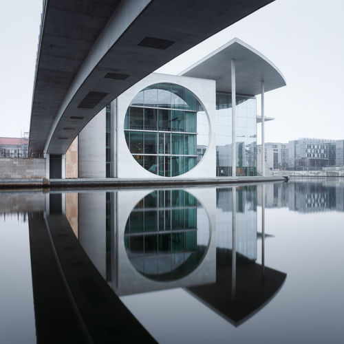 Marie-Elisabeth Lüders-Haus mirror reflection Architecture Berlin Building Exterior Built Structure City Cityscape Cityscape Day Fineartphotography Germany Government Building Government District Longexposure Marie-Elisabeth-Lüders-Haus Mirror Reflection Modern Muted Colors No People Outdoors Philipp Dase Reflection Spree River Berlin Urban Skyline Discover Berlin Waterfront