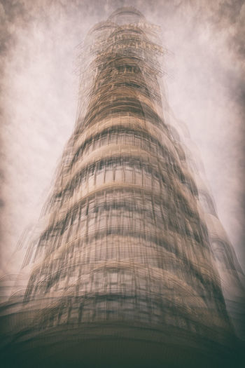 Gran Via in Madrid (Spain) Abstract Architecture Building Exterior Built Structure City Fine Art Photography Low Angle View Madrid Modern No People Skyscraper Tall Tall - High The Architect - 2017 EyeEm Awards Tower Travel Destinations