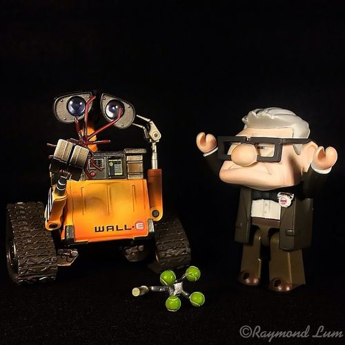 IPhoneography Wall E Toyphotography Carl