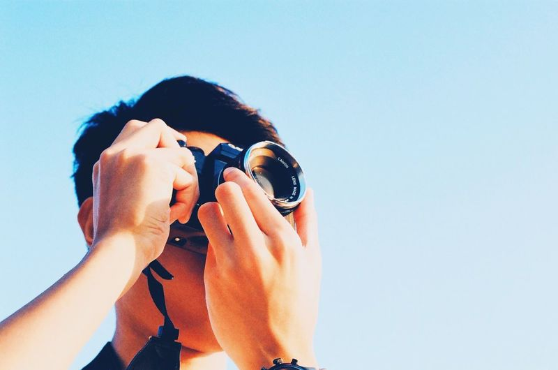 Sunshine make the photo perfect. Canonae1 HongKong