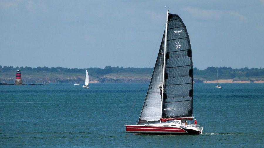 Noirmoutier Bateau Mer Navigué