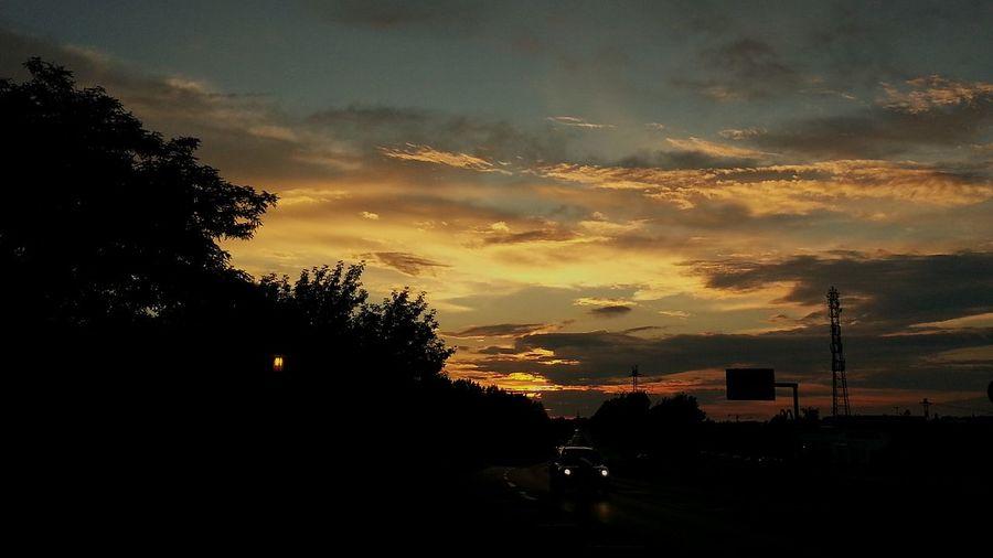 OpenEditCreativ Autobahn Carspotting Horizont  Last Sun Sky And Clouds EyeEmBestPics