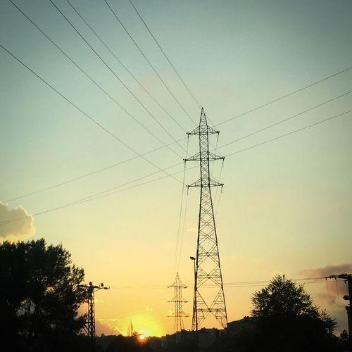 Electric cross