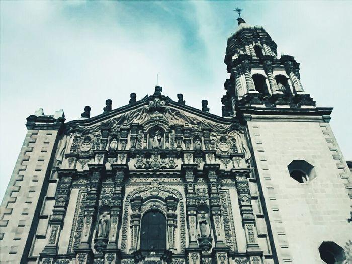 Praying Taking Photos Hello World Mi Mexico Querido Church