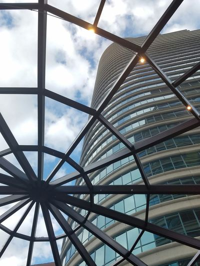 Skylight Architecture Angles Skylights Clouds The Architect - 2016 EyeEm Awards Minneapolis Minnesota