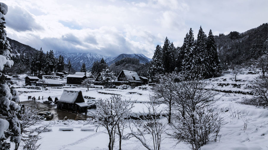 Beauty In Nature Cold Temperature Landscape Mountain Nature No People Outdoors Scenics Shyraphotography Snow Winter Lost In The Landscape Japan