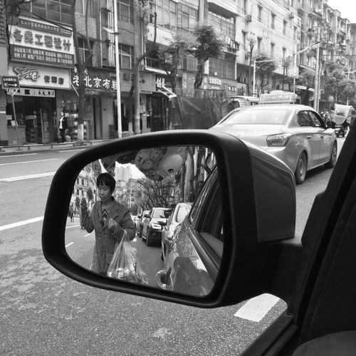 Car Transportation Land Vehicle Mode Of Transport Real People Outdoors City Day Full Length Lifestyles People Adult One Person The Human Condition Mobilephotography Iphonephotography Blackandwhite Street Monochrome Break The Mold