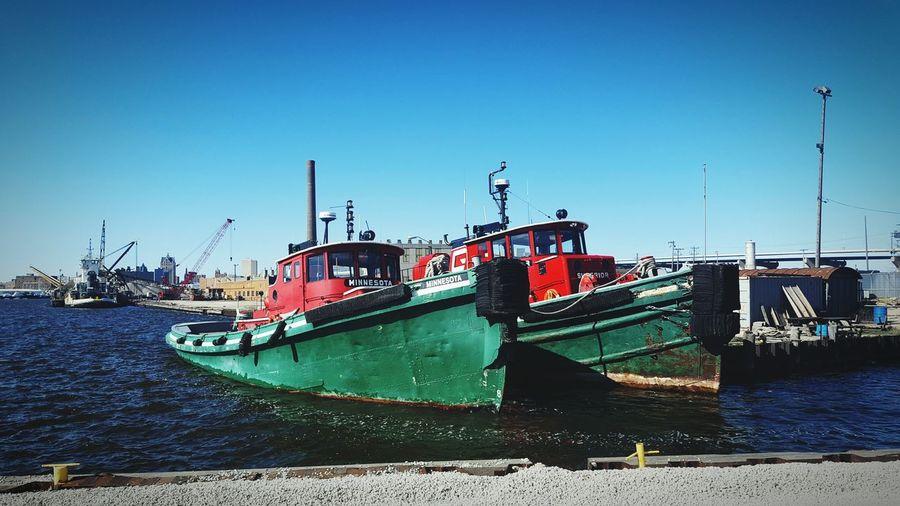 Tugboat Kayak Anchored