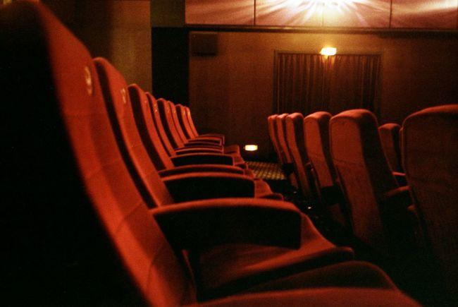 Cinema Theatre Seats Velvet Interior Interior Design