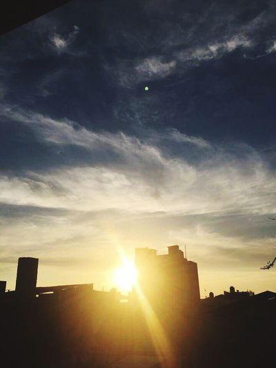 🌇 Sunset Sunlight Silhouette Sun