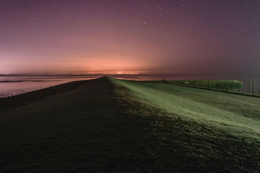 Dangast Nightphotography Nightscape Landscape Seascape Northsea Saschade Saschade.net more on http://saschade.net