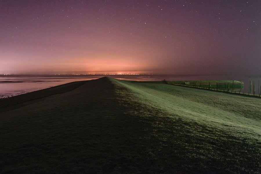 Dangast Nightphotography Nightscape Landscape Seascape Northsea Saschade Saschade.net more on http://saschade.net