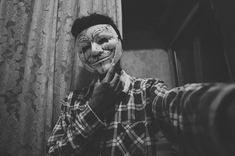 EyeEm Selects One Person Human Body Part Spooky Horror People Disguise Halloween Indoors  Close-up Backgrounds Full Length Fine Art Photography Spirituality The Week On EyeEm EyeEmNewHere Portrait