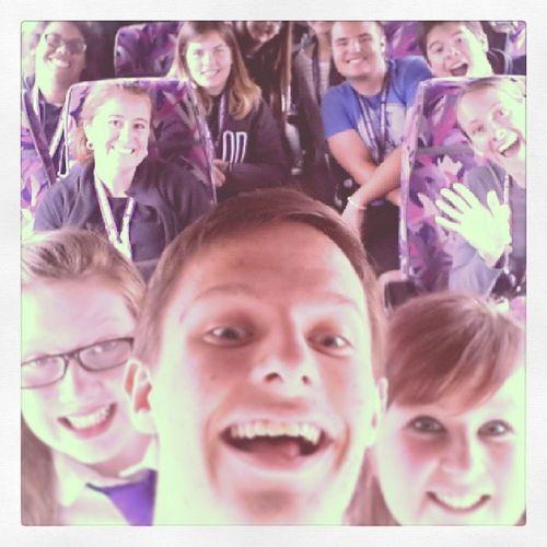 Bus selfie!! Again! Americansinscotland Busselfie Bestfriends