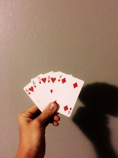 Am I bluffing? Playing Games Cards Bluffing Canyoutell