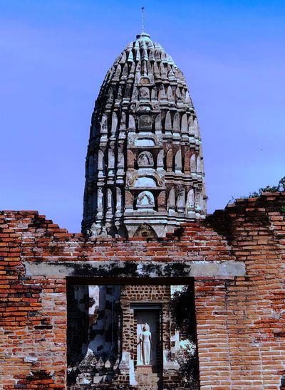 Religion Spirituality Architecture Built Structure Tourism Place Of Worship Travel Destinations Day History No People Building Exterior Low Angle View Sculpture Sky Outdoors Statue