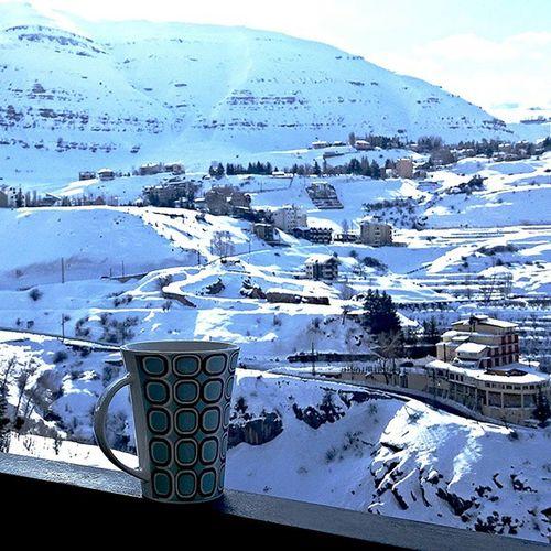 Wakinguptothis Morningcoffee b4 WeRide Snowboarding Snowseason Faraya
