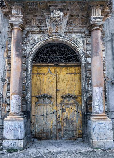 Old door Built