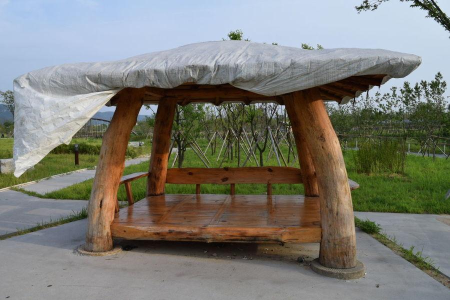 สวนสาธารณะ สวน ศาลา