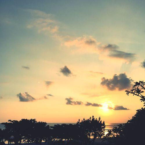Sunset — April 2015 Resting View Sunset