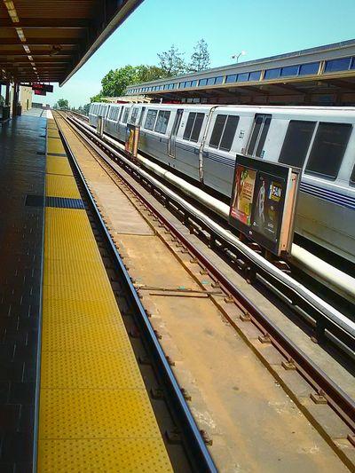 Tracks Bart Station BART Transportation My Photography The Photojournalist - 2016 EyeEm Awards My Commute My Commute-2016 EyeEm Photography Awards Glass Windows