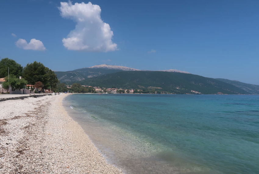 Kefalonia, Greece GREECE ♥♥ Greek Greek Islands Hellas Holiday Beach Blue Cephalonia Cloud - Sky Coastline Greece Greece Islands Kefalonia Landscape Mountain Nature No People Scenery Scenics - Nature Sea Sky Tranquil Scene Tranquility Vacation Water