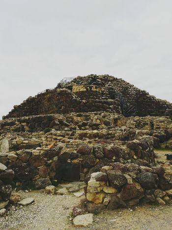 Italy Sardinia Archeology Nuraghe Barumini Ancient Architecture