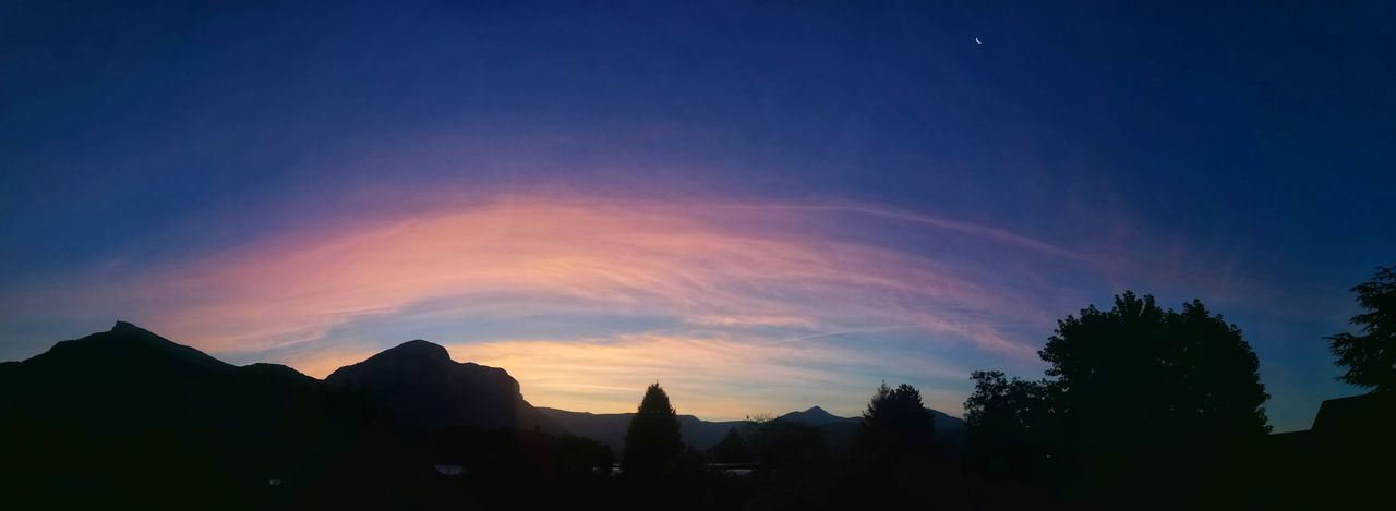 Landscape Scenics Beauty In Nature Morning View Beautiful Colors Mountain Astronomy Savoie Sunrise