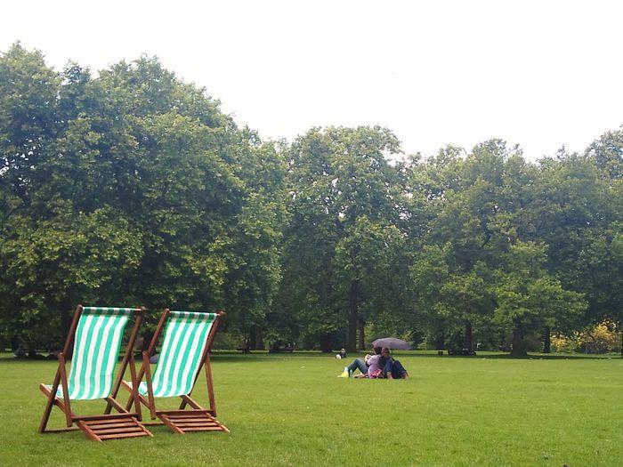 London Enjoying