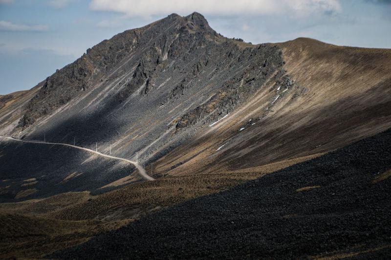 shamounts Nikon Mountain Sand Sky Landscape Volcanic Landscape