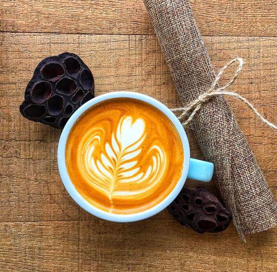 Coffee Hot Wood
