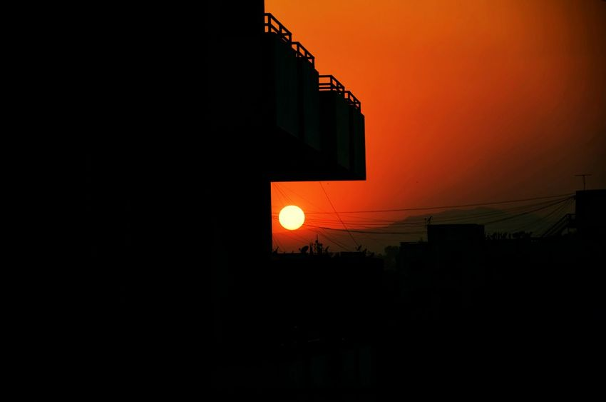 Sunrise or sunset? What do you think? Sun Building Exterior Architecture No People Sky Nature Landscape Pune Scenics Spring Has Sprung Landscape_Collection Punediaries Puneinstagrammers Pune City Maharashtra_ig Theimaged Puneclickarts Maharashtra_maza The Great Outdoors - 2017 EyeEm Awards Compositionkillerz MyDarkShot City