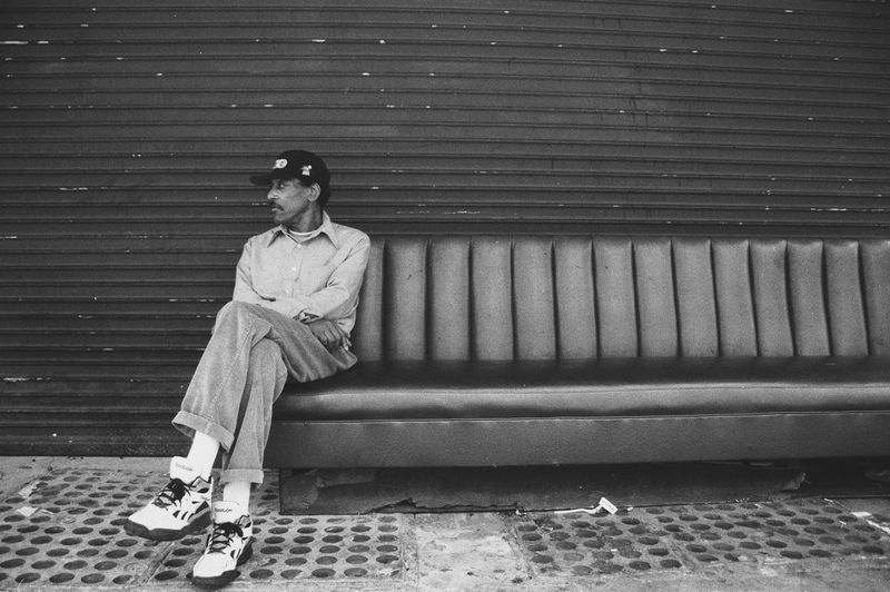EyeEm Selects Sitting Real People One Person Full Length Outdoors Front View