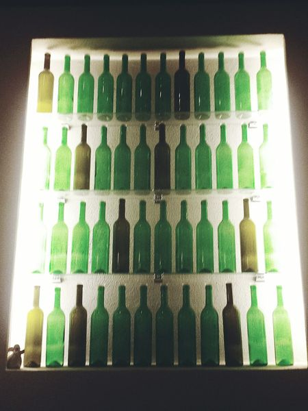 Ausstellung Gallery Alte Weinflaschen Alte Flaschen Old-fashioned Old Bottles Old Wine Storage Old Wine Bottles Glass Glasflaschen Green Licht Und Schatten Light And Shadow Lights Good Morning Hello World Human Meets Technology My Favorite Photo Your Design Story Live Love Shop