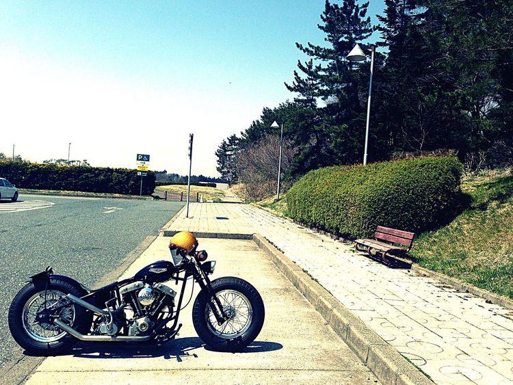 Harley Harleydavidson Shovelhead Motorcycle Harley-Davidson ハーレー ハーレダビッドソン ショベルヘッド First Eyeem Photo