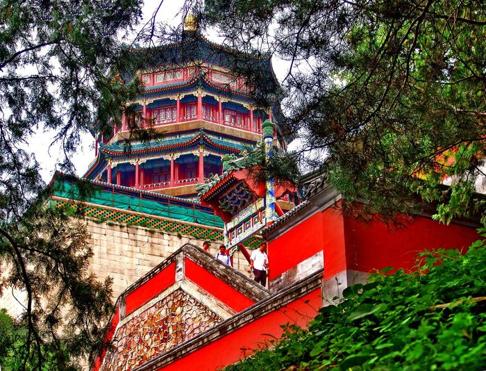 Architecture Beijing BEIJING北京CHINA中国BEAUTY Building Exterior Built Structure China China Photos Day Outdoors Sky Sommerpalast Summer Palace Beijing Travel Travel Destinations Travel Photography Traveling Travelphotography Tree Finding New Frontiers